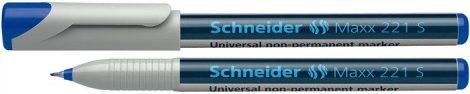 """SCHNEIDER Alkoholmentes marker, OHP, 0,4 mm, SCHNEIDER """"Maxx 221 S"""", kék"""
