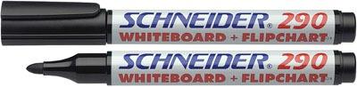Schneider 290 kúpos tábla -és flipchart marker