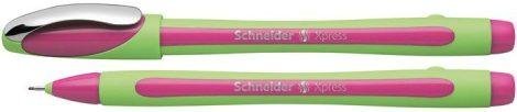 """SCHNEIDER Tűfilc, 0,8 mm, SCHNEIDER """"Xpress"""", rózsaszín"""
