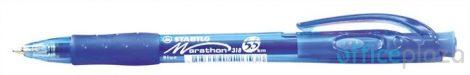 STABILO Marathon Golyóstoll, 0,38 mm, nyomógombos