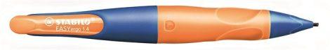"""STABILO Nyomósirón, 1,4 mm, balkezes, STABILO """"EasyErgo Start"""", kék/narancssárga"""