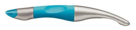 "STABILO Rollertoll, 0,5 mm, jobbkezes, metál/neonkék tolltest, STABILO ""EasyOriginal Start"", kék"