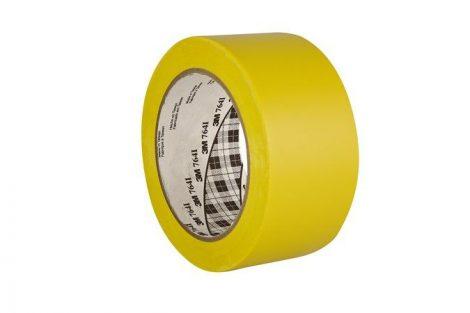 3M Ipari jelzőszalag, 50 mm x 33 m, 3M, sárga