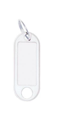 WEDO Kulcscímke, 10 db, WEDO fehér