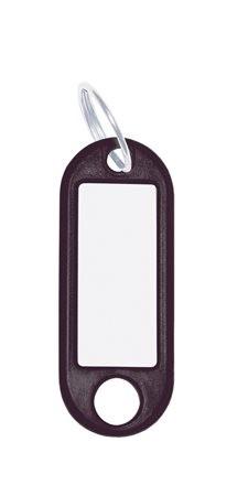 WEDO Kulcscímke, 10 db, WEDO fekete