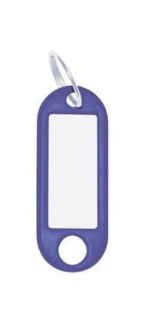 WEDO Kulcscímke, 10 db, WEDO kék
