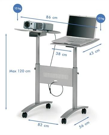 NOBO Vetítőállvány projektorhoz, multimédia NOBO