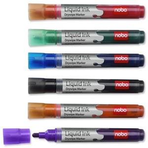 Nobo 6 flipchart marker készlet