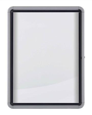 NOBO 6 x A4 kültéri fali vitrin mágneses hátlappal