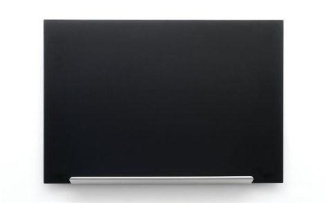 """Mágneses üvegtábla, 38,1x67,7 cm, NOBO """"Diamond"""", fekete"""