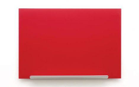 """Mágneses üvegtábla, 55,9x99,3 cm, NOBO """"Diamond"""",Piros"""