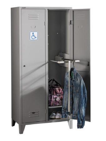 HANDICAP PR 2/800 öltözőszekrény mozgássérültek számára