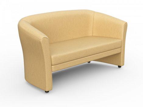KRON 3 személyes kanapé, valódi bőr
