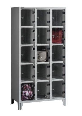 BOX 3/15 PLEXI értékmegőrző szekrény