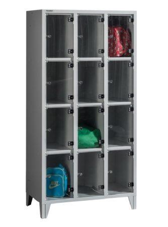 BOX 3/12 PLEXI értékmegőrző szekrény