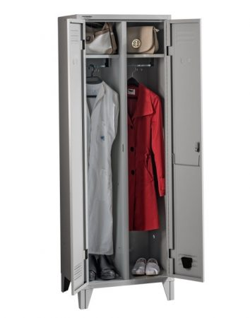 PROJECT 2 MIDDLE középről nyíló ajtós öltözőszekrény