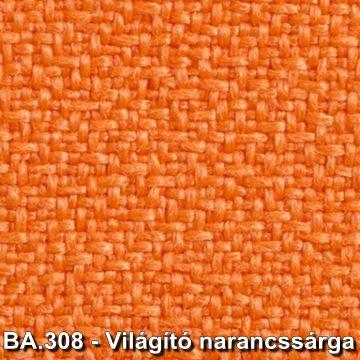 BA.308 - Világító narancssárga forgószék szövet