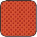 MS.03 terrakotta hálós szövet
