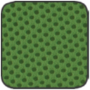 MS.04 fűzöld hálós szövet