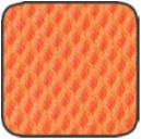 MS.13 élénk narancs hálós szövet