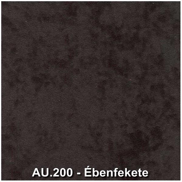 AU.200 - Ébenfekete forgószék szövet