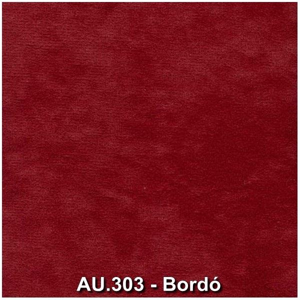 AU.303 - Bordó forgószék szövet