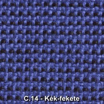 C.14 - Kék-fekete szövet irodai forgószékhez