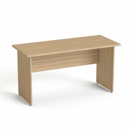 """MAYAH Íróasztal, laplábbal, 140x70 cm, MAYAH """"Freedom SV-20"""", kőris"""